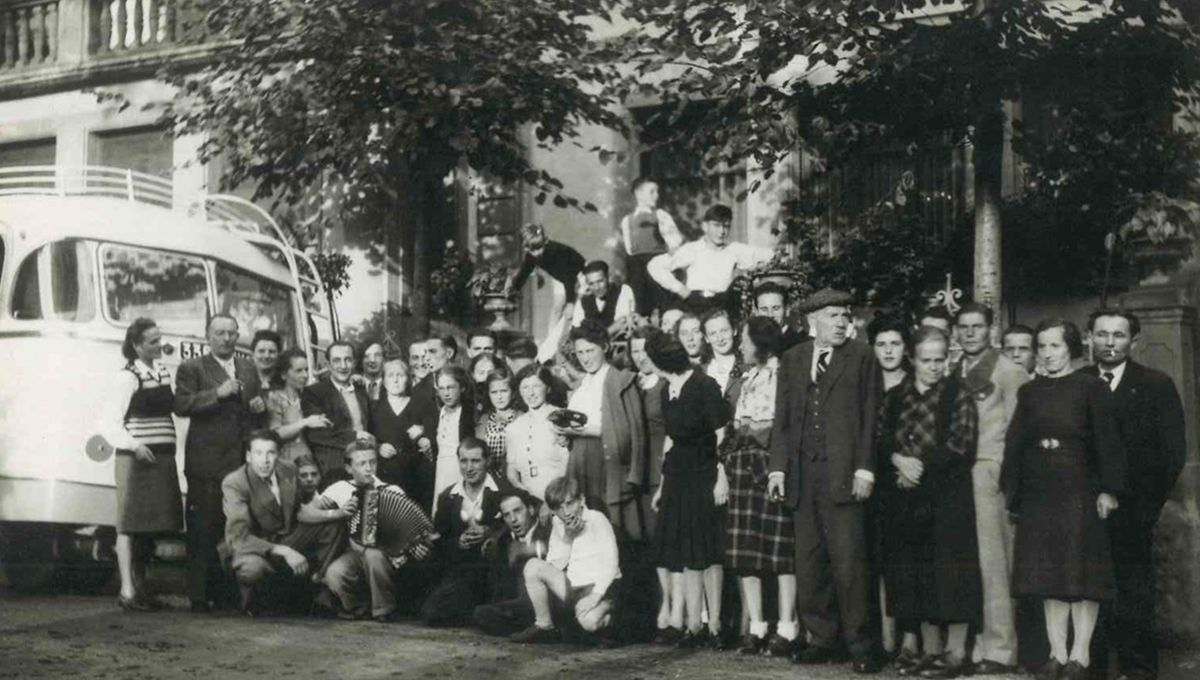 Équipe Wunschel en 1947