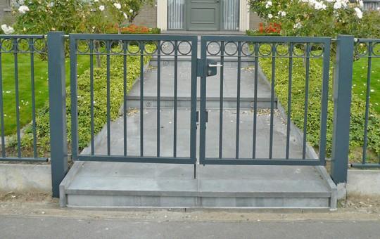 Porte pivotante rondo double battants