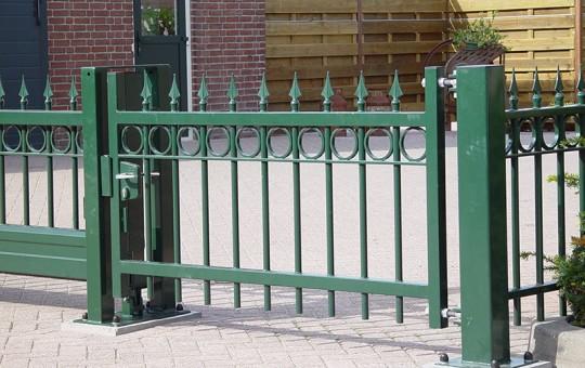 Porte pivotante lancio vert