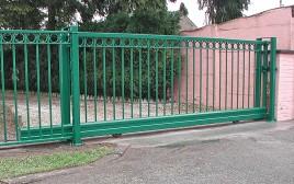 Porte coulissante sur rail rondo