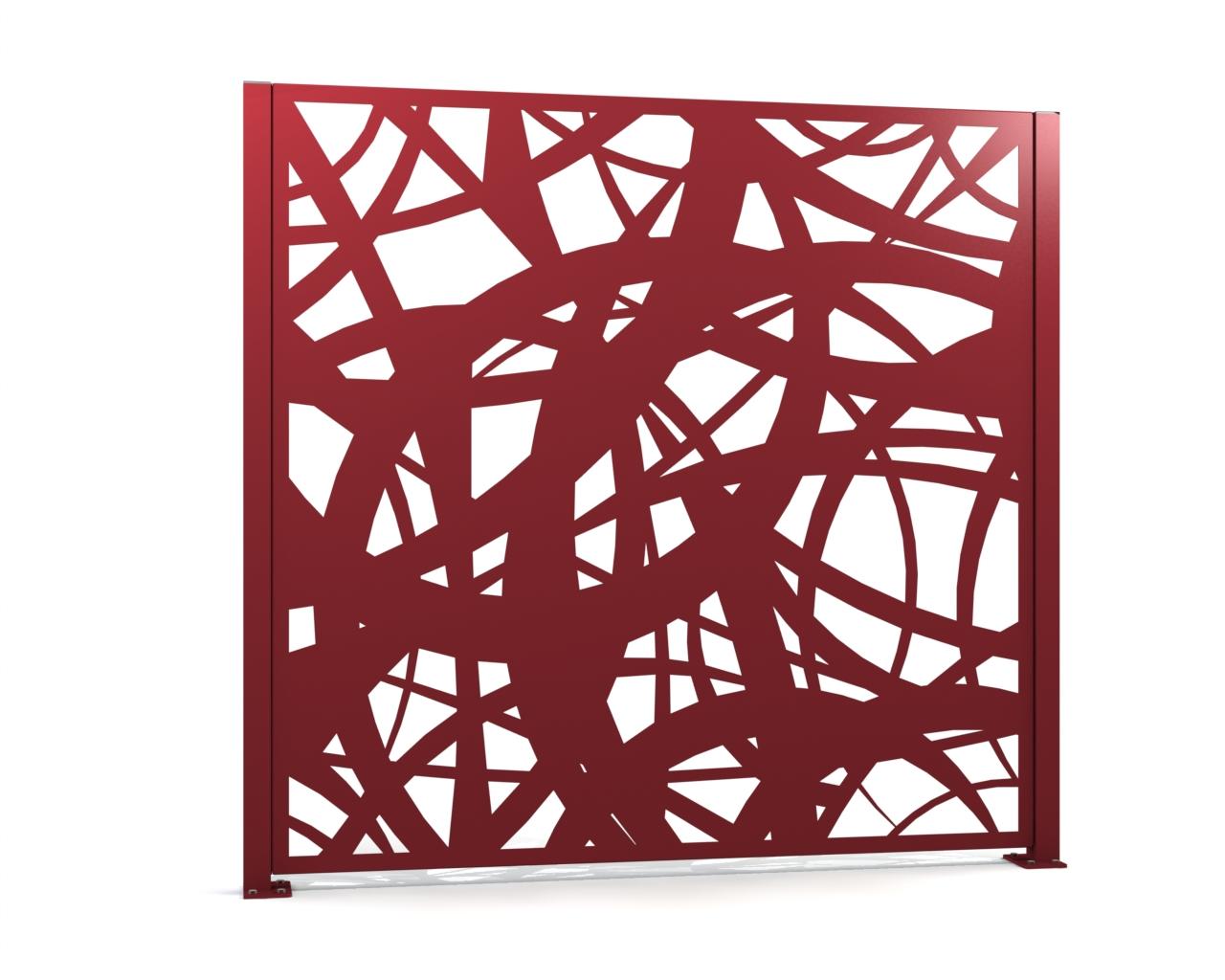 gamme palissade alu mod le carya alba grillages wunschel. Black Bedroom Furniture Sets. Home Design Ideas