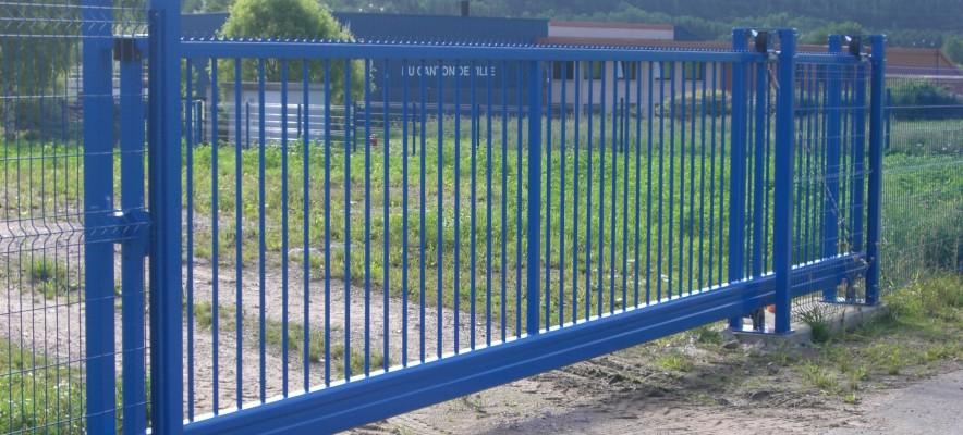 Porte taurus autoportante bleu