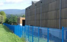 Cloture en panneaux rigide aquilon 55 premium bleu